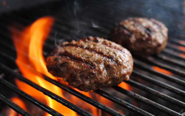 Flame Grilled Burgers-image